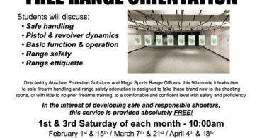 New Rangeorientation Feb April