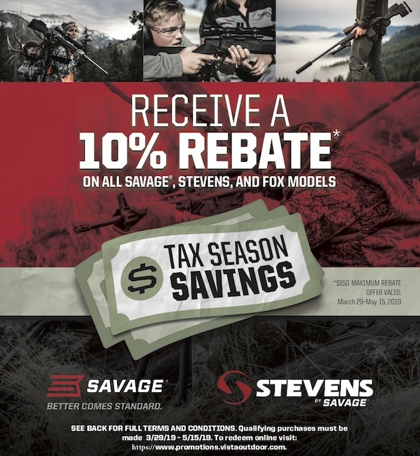 Savagearms Rebate