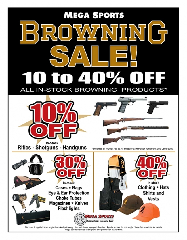 Browning Sale2018 0